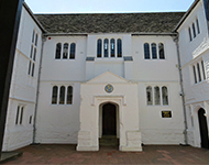 Old Grammer School Building in Weybridge, Surrey